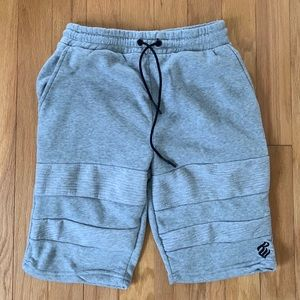 Rocawear Gray Sweat Shorts size Medium